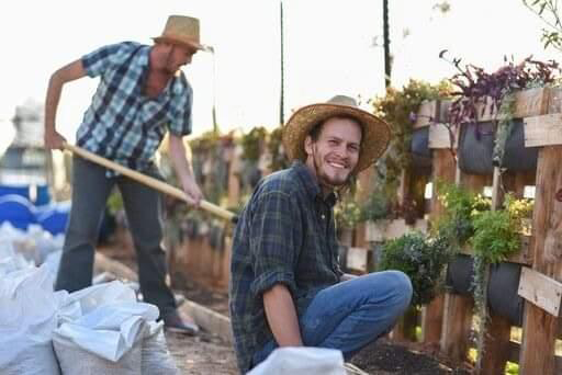 """Aviv Lerner, founder of the nonprofit """"Ve'Natata (And You Shall Plant)"""". (Photo: Private Album)"""